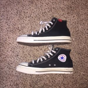 8416027a10e4c7 Converse Shoes - Vintage Steel Toe Converse Hi Tops ANSI 75